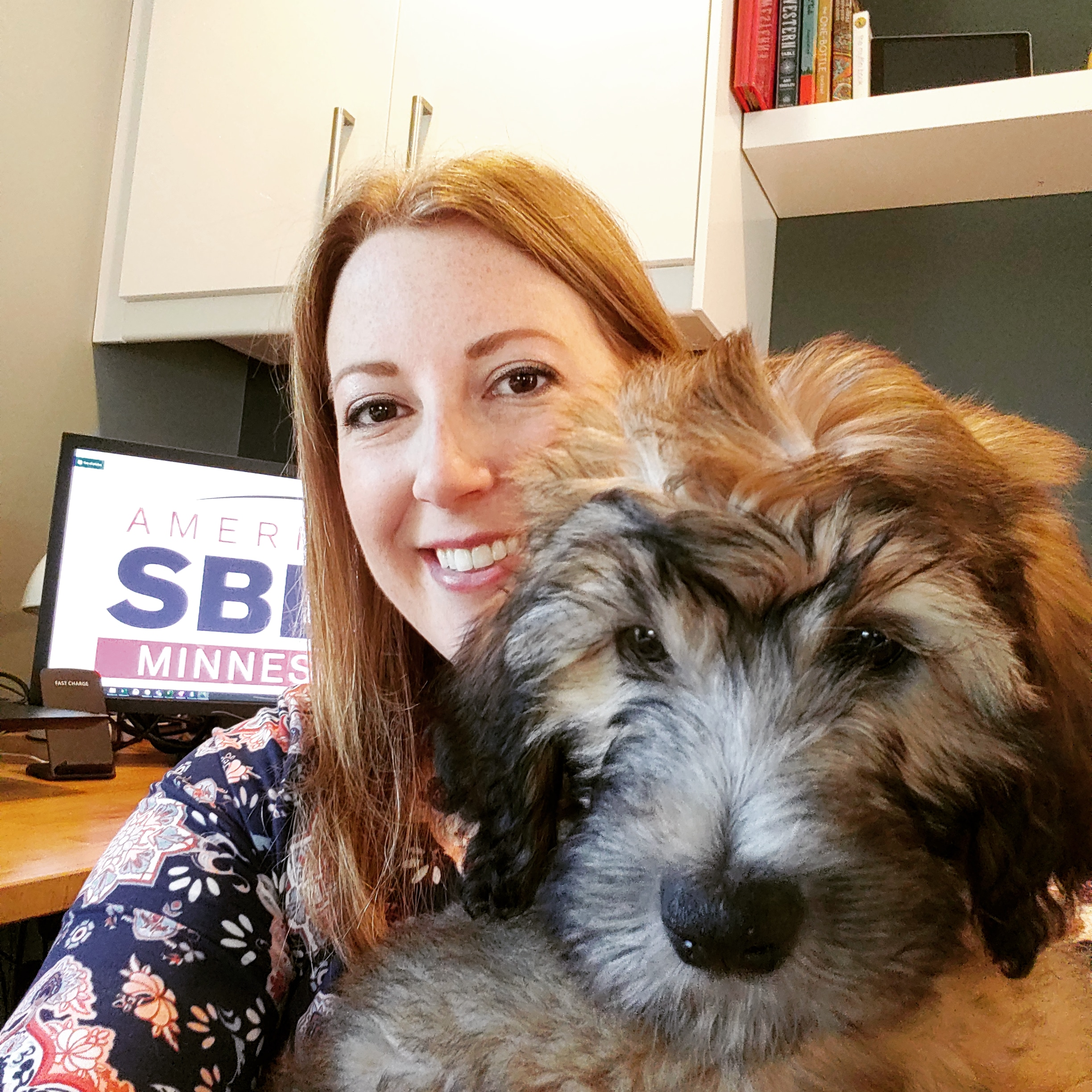 rural by choice - consultant with pet